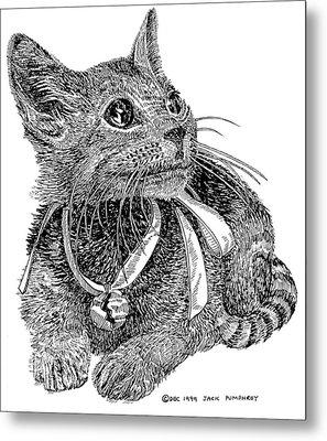 Cutie Pie Tinker Bell  Metal Print by Jack Pumphrey