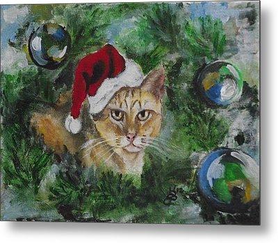 Tinker's Christmas Metal Print by Kim Selig