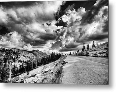 Tioga Pass Metal Print by Cat Connor