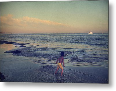 To Be Young Metal Print by Laurie Search