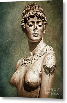 To Spite Her Face Metal Print by Colleen Kammerer