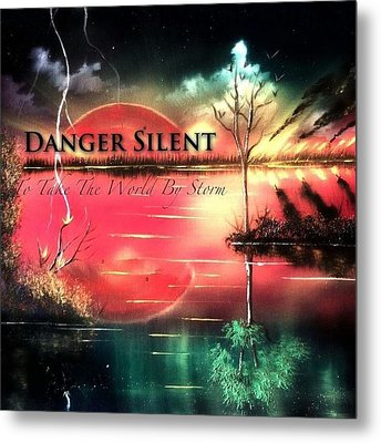 To Take The World By Storm Metal Print by Jody Poehl