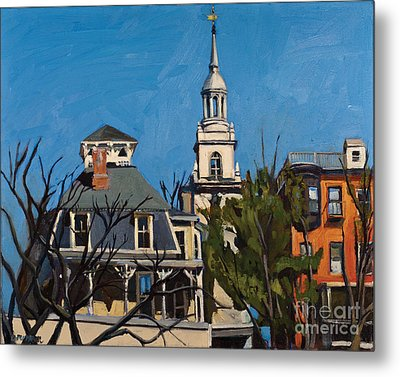 To The Heights Metal Print by Deb Putnam