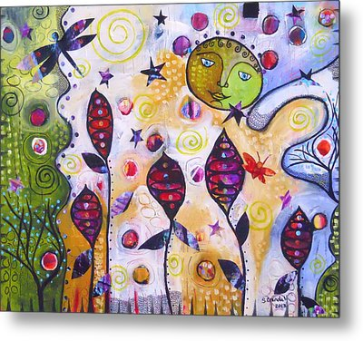To The Moon And Back Metal Print by Shannon Crandall