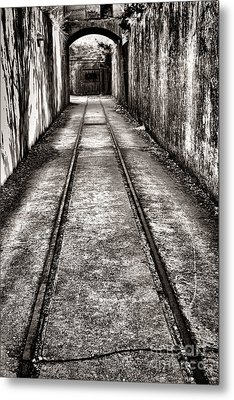 To The Nightmare Metal Print by Olivier Le Queinec