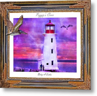 Together Metal Print by Betsy C Knapp