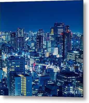 Tokyo 19 Metal Print by Tom Uhlenberg