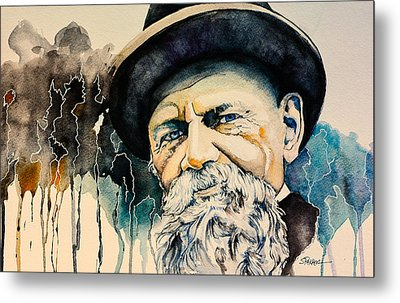 Tolstoy Metal Print by Scott  Parker