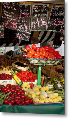 Tomate Metal Print by Art Ferrier