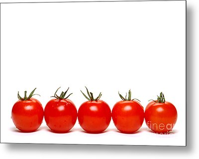 Tomatoes Metal Print by Olivier Le Queinec