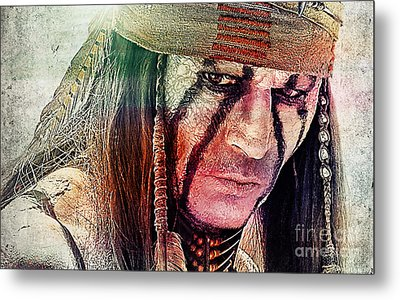 Tonto Painting Metal Print by Marvin Blaine
