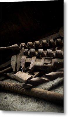 Tools Metal Print by Jessica Berlin