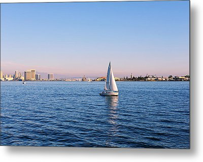Top Destination San Diego Metal Print by Christine Till