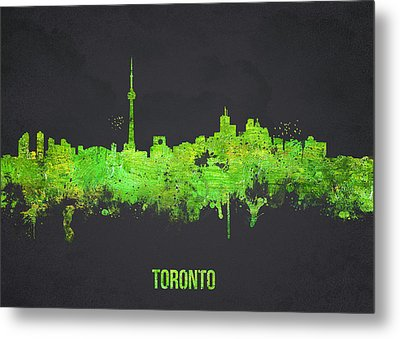 Toronto Canada Metal Print by Aged Pixel
