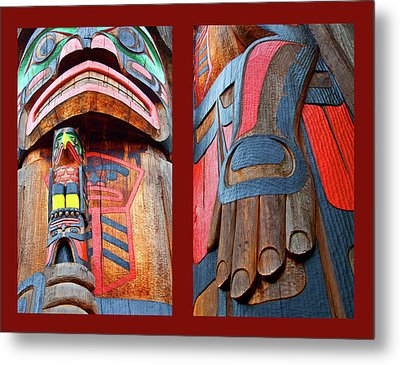 Totem 2 Metal Print by Theresa Tahara