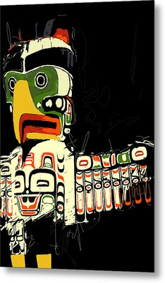 Totem Pole 01 Metal Print by Catf
