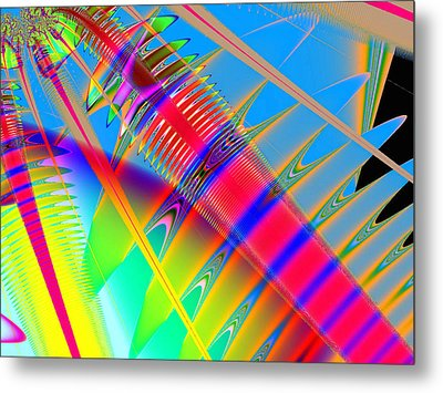 Touching Color Metal Print by Wendy J St Christopher