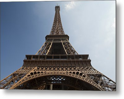 Tour Eiffel 2 Metal Print by Art Ferrier