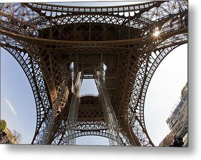 Tour Eiffel 4 Metal Print by Art Ferrier