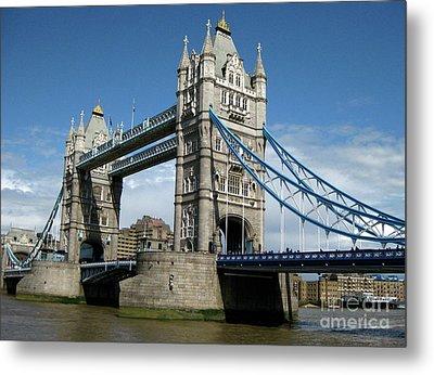 Tower Bridge London Metal Print by Heidi Hermes