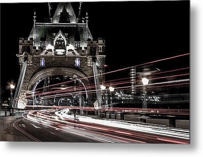 Tower Bridge London Metal Print by Martin Newman