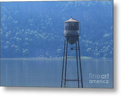 Tower In The Water Metal Print by Lotus