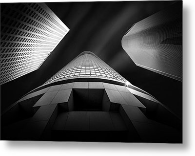 Tower Wars 2 Metal Print by Az Jackson
