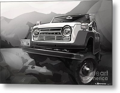 Toyota Fj55 Land Cruiser Metal Print by Uli Gonzalez