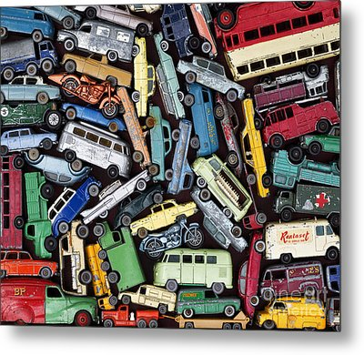 Traffic Jam Metal Print by Tim Gainey