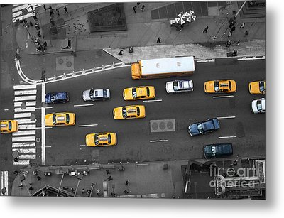 Traffic Report Metal Print by Dan Holm