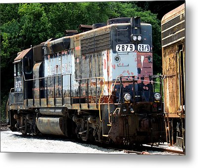 Train Engine #2879 Metal Print by Mark Moore
