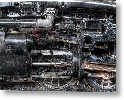 Train - Engine - 611 - Norfolk And Western - Built 1950 Metal Print by Mike Savad