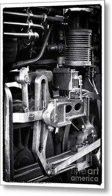 Train Pistons Metal Print by John Rizzuto