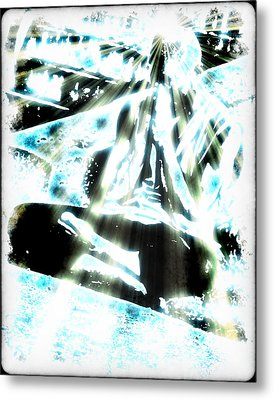 Transcending Metal Print by Frederico Borges
