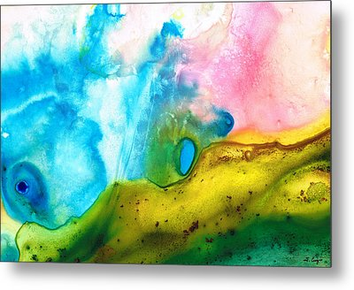 Transformation - Abstract Art By Sharon Cummings Metal Print by Sharon Cummings