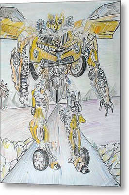 Transformers Metal Print by Darlene Ricks- Parker