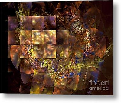 Translucence Metal Print by Olga Hamilton