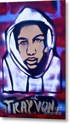 Trayvon's America Metal Print by Tony B Conscious