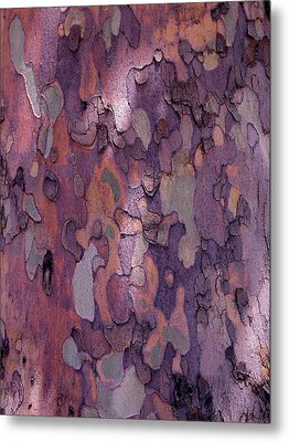 Tree Abstract Metal Print by Rona Black