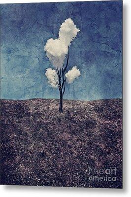 Tree Clouds 01d2 Metal Print by Aimelle