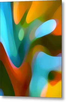 Tree Light 3 Metal Print by Amy Vangsgard