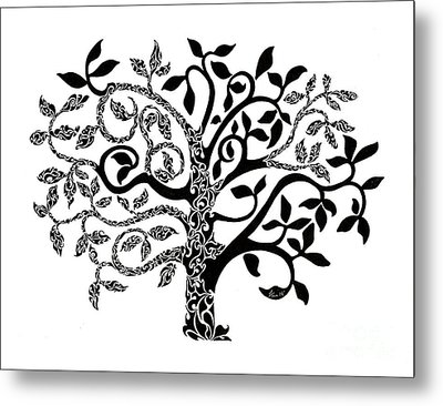 Tree Of Life Metal Print by Anushree Santhosh
