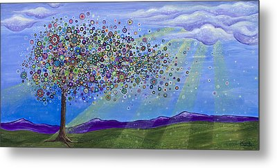 Tree Of Life Metal Print by Tanielle Childers