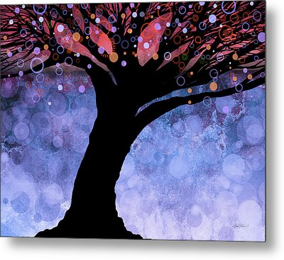 Tree Of Life Three Metal Print by Ann Powell