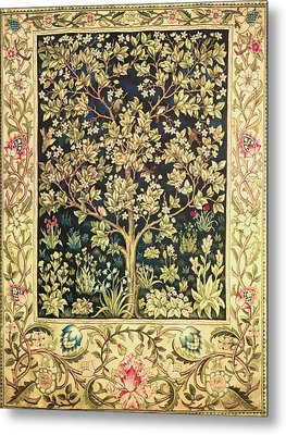 Tree Of Life Metal Print by William Morris