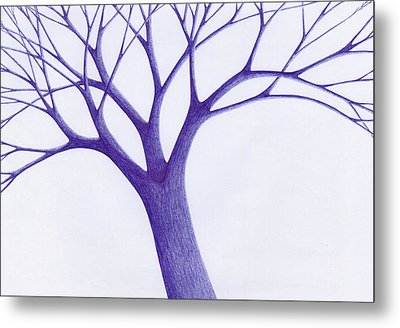 Tree - The Great Hand Of Nature Metal Print by Giuseppe Epifani