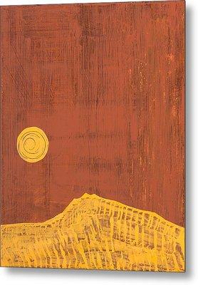 Tres Orejas Original Painting Metal Print by Sol Luckman