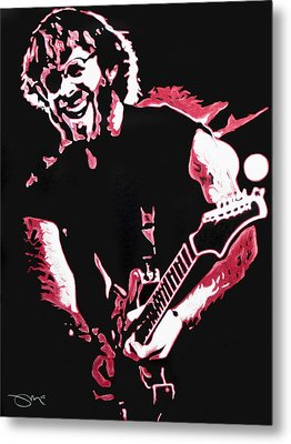 Trey Anastasio In Pink Metal Print by Joshua Morton