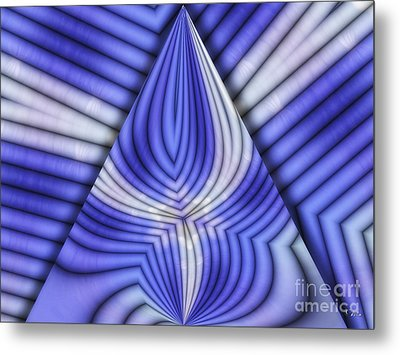 Triangle Metal Print by Mo T