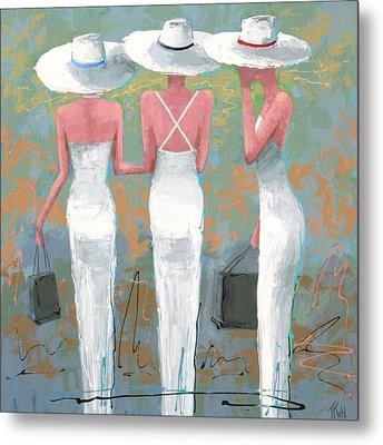 Trio Metal Print by Thalia Kahl